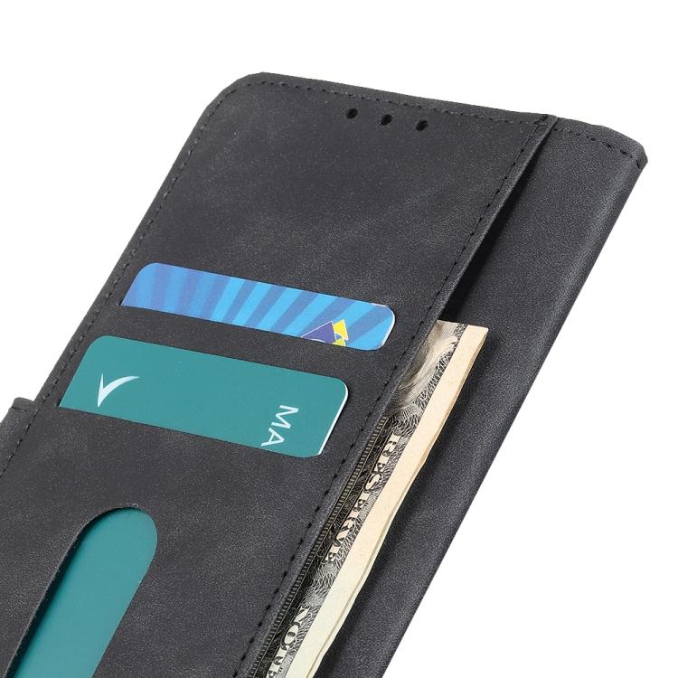 Кожаный чехол чорного цвета с слотами под кредитки на Самсунг Гелекси С20 FE
