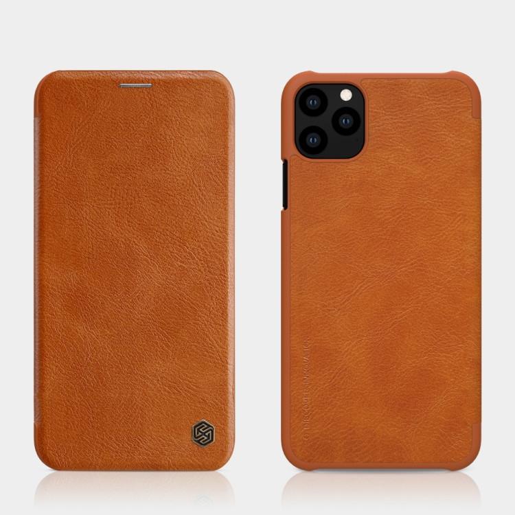 Чехол- книжка на Айфон 11 Про- коричневый