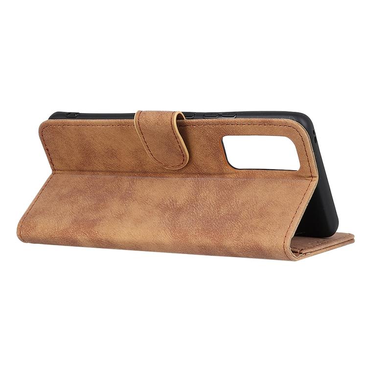 Чехол-книжка с складной подставкой коричневого цвета для Сяоми Ми 10Т
