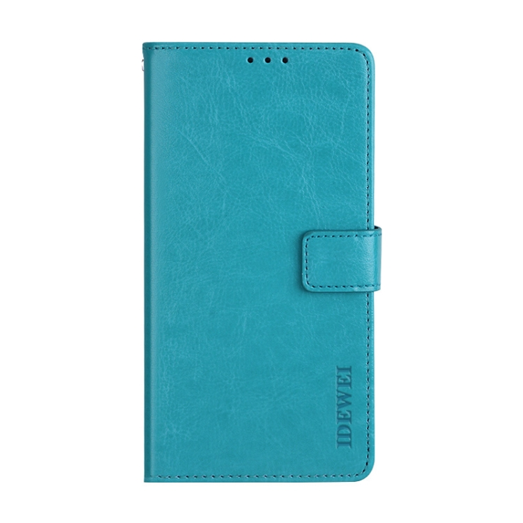 Голубой чехол-книжка idewei на Xiaomi Mi 11 Ultra