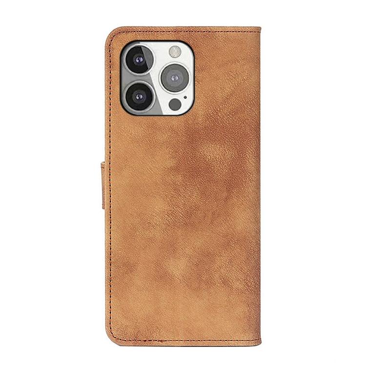 Чехол-книжка на Айфон 13 Pro - коричневый