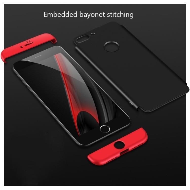 3D чехол GKK на Айфон 7 Плюс черный