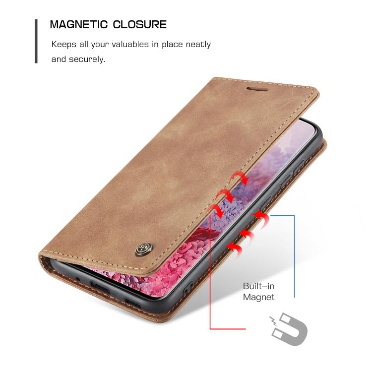 Кожаный чехол-книжка для Samsung Galaxy S20