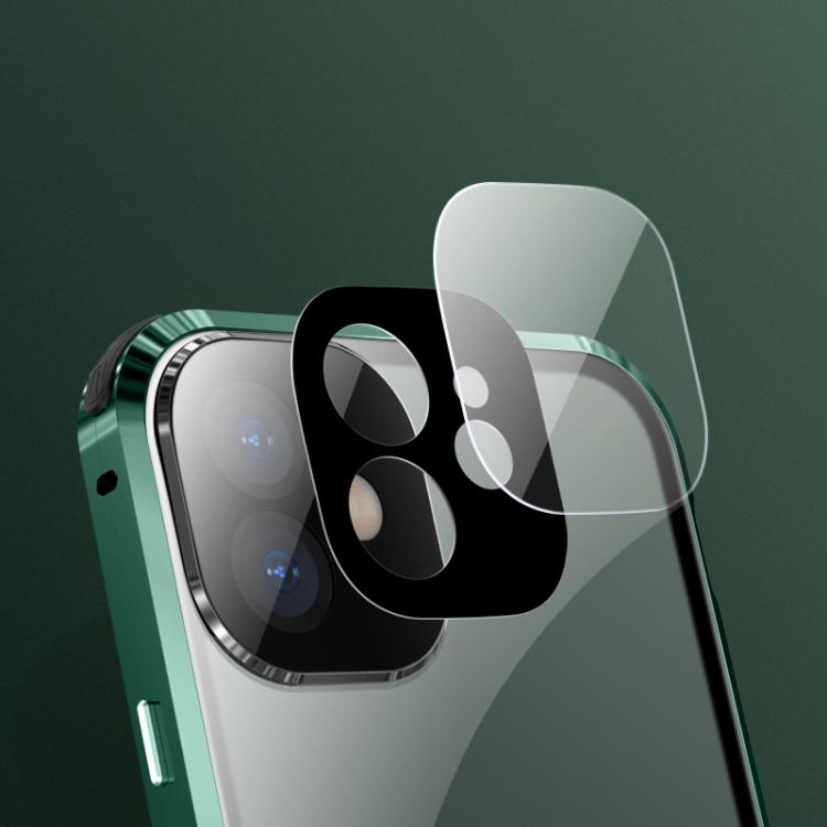 Магнитный двухсторонний чехол для Айфон 12 Про Макс