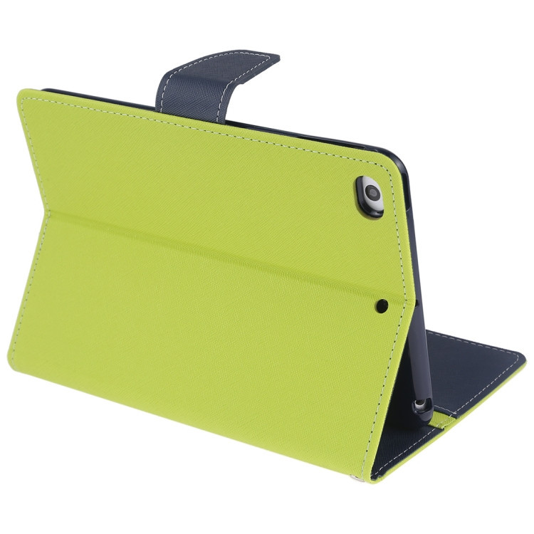 Чехол-книжка с складной подставкой для Айпад мини зеленого цвета