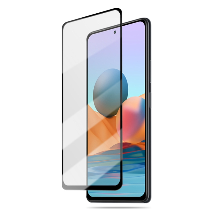Защитное стекло mocolo 0.33mm 9H 3D Full Glue для Xiaomi Redmi Note 10 / 10S - черное