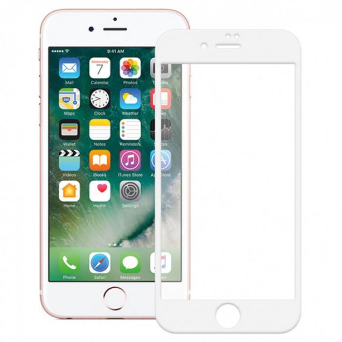 Защитное стекло XD+ full glue для Apple iPhone 6/6s/7/8 - белое