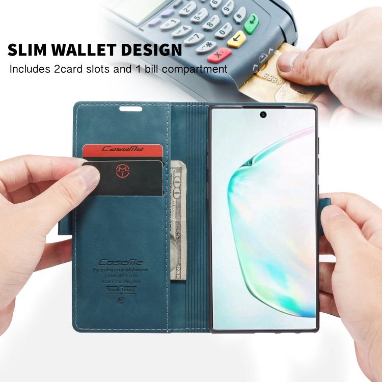 Кожаный чехол-книжка на Samsung Note 10 Lite
