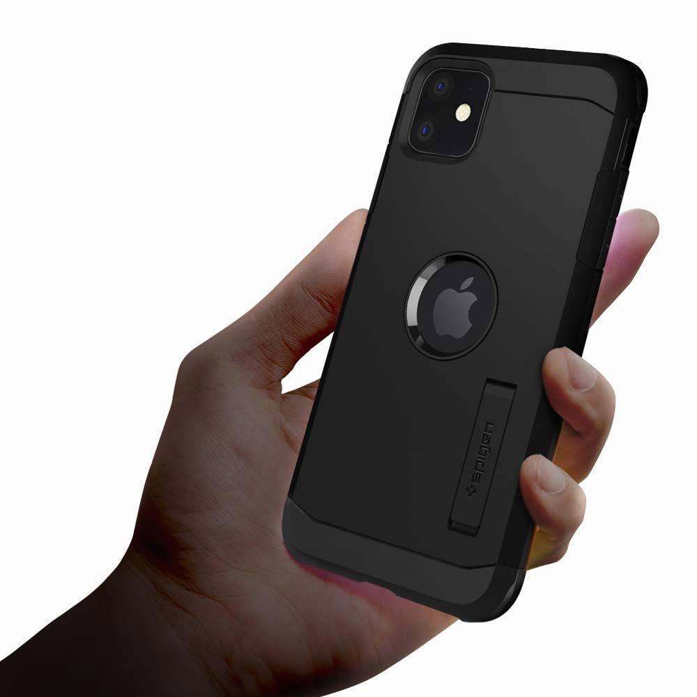 Оригинальный чехол Spigen Tough Armor на IPhone 11 Black