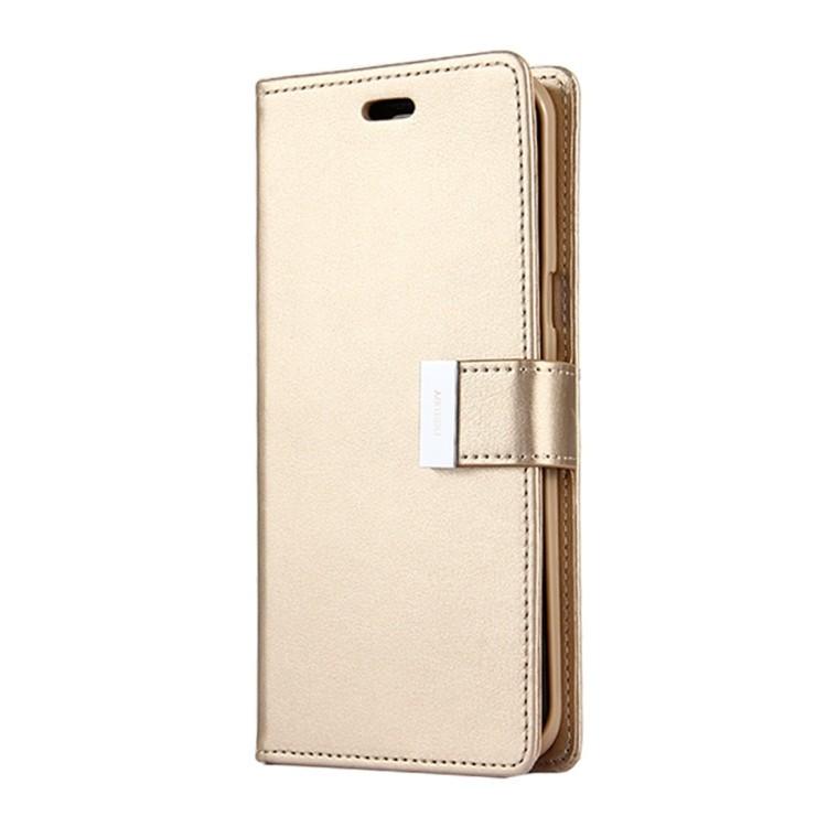 Чехол- книжка MERCURY GOOSPERY RICH DIARY на Samsungr Galaxy S8  / G950 -золотой
