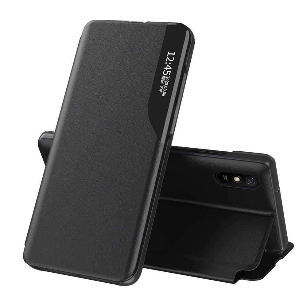 Чехол-книжка Clear View Standing Cover на Xiaomi Poco X3 NFC / Poco X3 Pro - черный