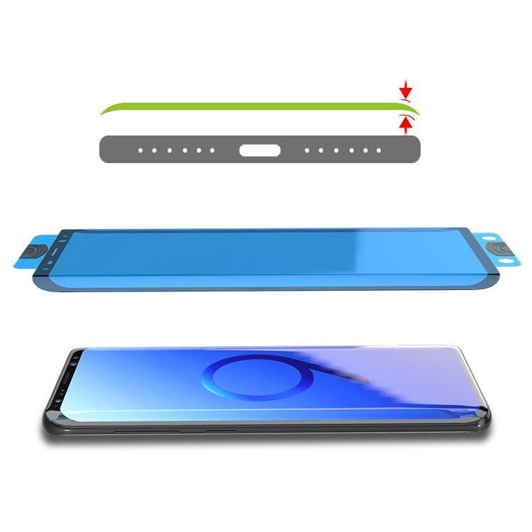 Защитное стекло на весь экран для Samsung Galaxy S20