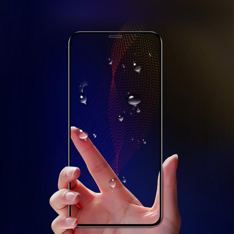 защитное стекло Моколо 0.33 мм 9Аш 3Д Фул Скрин на Айфон 11 Про Макс/Иксес Макс- черное