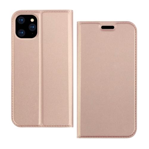 Чехол-книжка DZGOGO ISKIN Series на iPhone 12 Mini - розовое золото