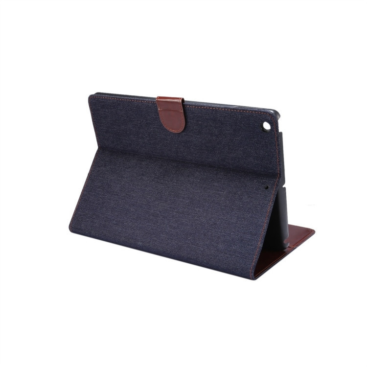 Чехол-книжка Dibase Denim Leather Case для iPad 10.2 - синий