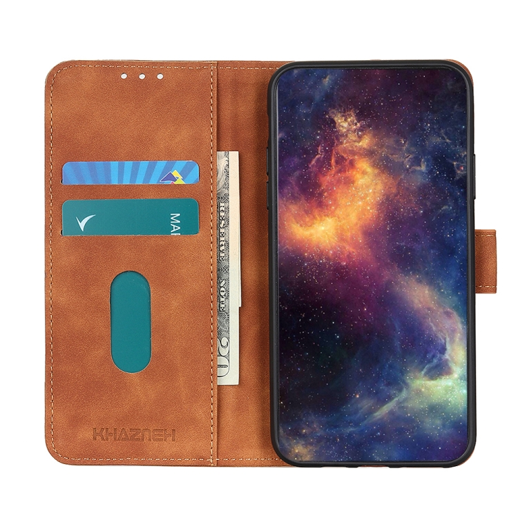 Чехол-книжка KHAZNEH Retro Texture для Samsung Galaxy A52