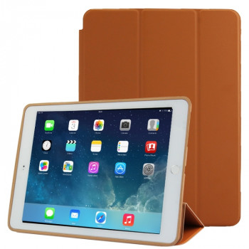 Чехол-книжка Treated Smart Leather Case  для iPad Air 2 - коричневый