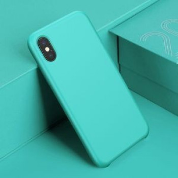 Силиконовый чехол Original LSR Case Baseus на iPhone X/Xs  Blue