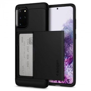 Оригинальный чехол Spigen Slim Armor Cs для Samsung Galaxy S20+ Plus Black