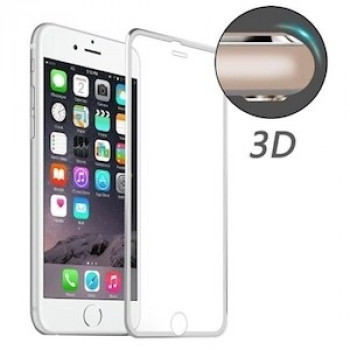 Защитное 3D Стекло на весь Экран Enkay 0.26mm 9H для iPhone 6 6s 0.26mm 9H Surface Hardness Titanium Alloy Серебристое
