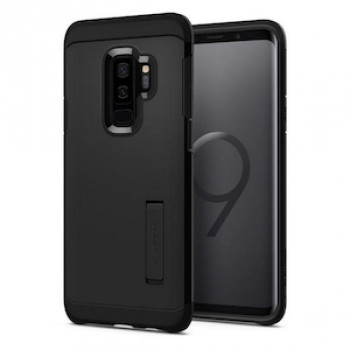 Оригинальный чехол Spigen Tough Armor Galaxy S9+ Plus Black