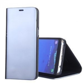 Чехол- книжка Clear View  на Samsung Galaxy S8+/G955 Electroplating Mirror-черный