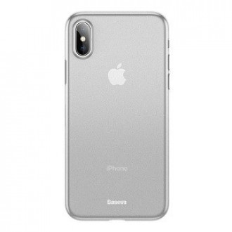 Чехол Baseus WingUltra-Thin Frosted PP Case  на iPhone Xs Max белый