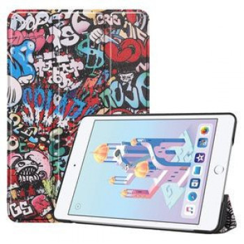 Чехол- книжка Graffiti Pattern Custer Texture на iPad Mini 5 (2019) / Mini 4