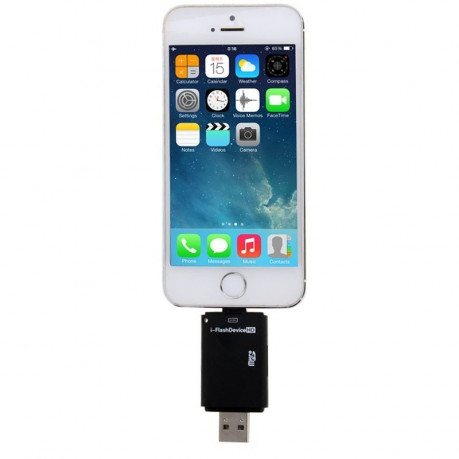 Кардридер i-Flash Drive Micro SD для iPhone, iPad, iPod touch