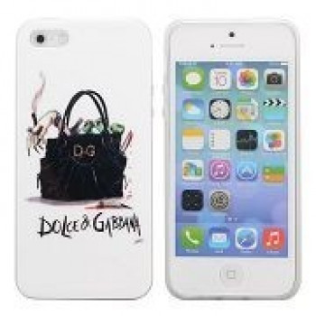 TPU Чехол Fashion Bag Pattern Dolce&Gabbana для iPhone 5, 5S, SE
