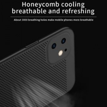 Ультратонкий чехол MOFI Breathable PC Ultra-thin All-inclusive на iPhone 11-черный