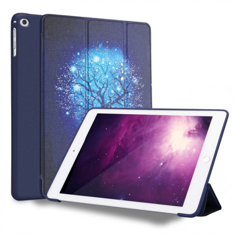 Чехол-книжка Blue Tree Pattern на iPad  9.7 2018/ 2017/ Air 2 / Air