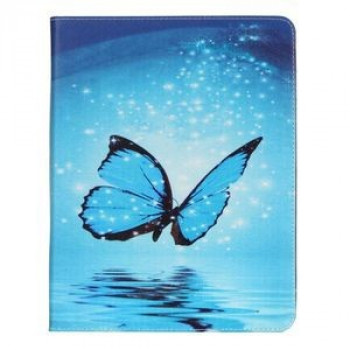 Чехол-книжка Painting Blue Butterfly Pattern на iPad 4 / iPad 3 / iPad 2