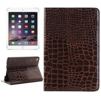 Кожаный Чехол Crocodile Texture Smart Brown для iPad Mini 4