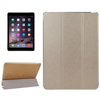 Чехол Silk Texture Sleep/ Wake up золотой для iPad Air 2