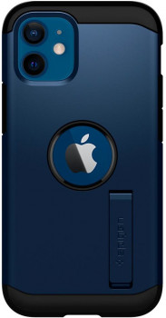 Оригинальный чехол Spigen Tough Armor на iPhone 12 Mini Navy Blue