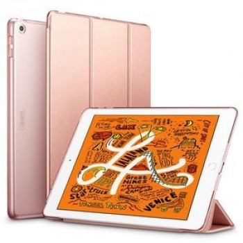Чехол- книжка ESR Yippee Color Series Slim Fit на iPad Mini 5 2019/ Mini 4- розовое золото
