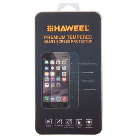 Защитное стекло Haweel Tempered Glass Film 0.26mm 9H+  2.5D для iPhone 5, 5S, 5C