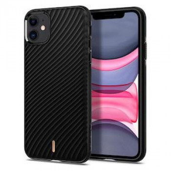 Чехол Spigen Ciel by Cyrill Wave Shell Collection для IPhone 11- Black