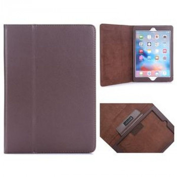 Чехол Lichee Pattern Book Style на iPad 2017/2018 9.7 (A 1822/ A 1823) - Brown