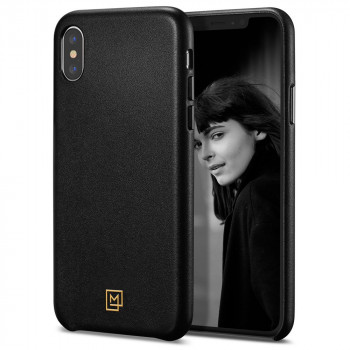 Оригинальный чехол Spigen La Manon Calin для  iPhone XS / X Chic Black
