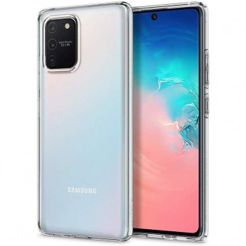 Оригинальный чехол Spigen Liquid Crystal для Samsung Galaxy S10 Lite Crystal Clear