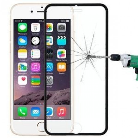 3D стекло на весь экран Explosion-proof Full Screen черное на iPhone 6/ 6s