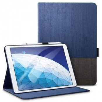 Чехол- книжка ESR Simplicity Series Folio Knight на iPad Air 2019 10.5-синий
