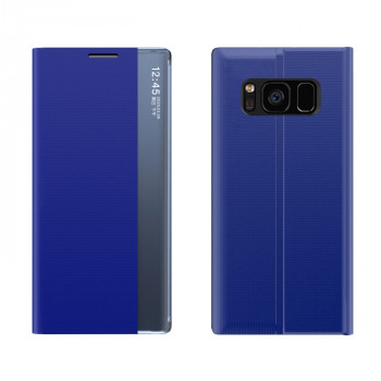 Чехол-книжка Clear View Standing Cover на Samsung Galaxy S10 Plus - синий