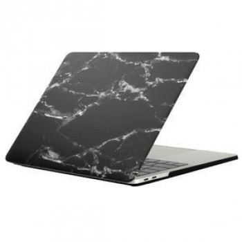 Мраморный Чехол Marble Black White Texture для 2016 New Macbook Pro 13.3 A1706/  A1708