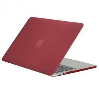 Чехол Frosted Texture Wind Red для 2016 New Macbook Pro 13.3
