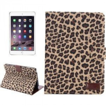 Кожаный Чехол Leopard Texture Case Yellow для iPad mini 3/ 2/ 1