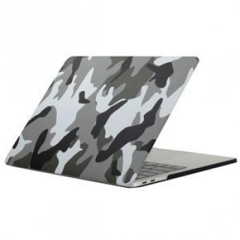 Чехол Grey Camouflage для 2016 New Macbook Pro 13.3