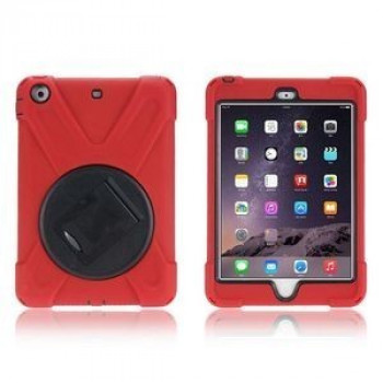Противоударный чехол 3 в 1 Shock-proof Detachable Stand на iPad Mini 3 Mini 2 iPad Mini Red